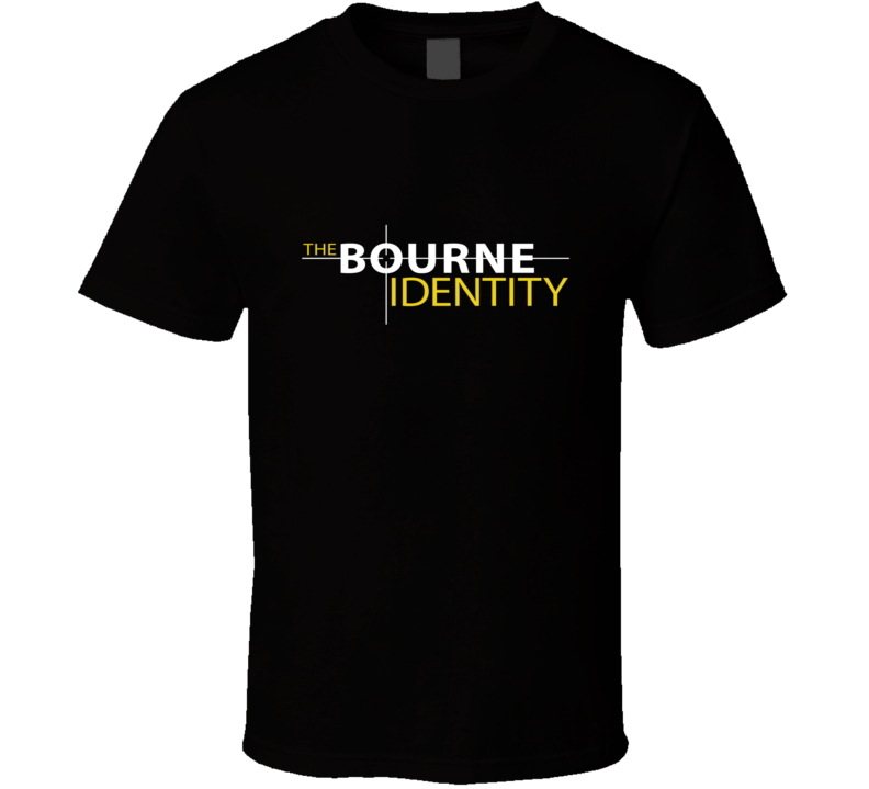 Bourne Identity T Shirt