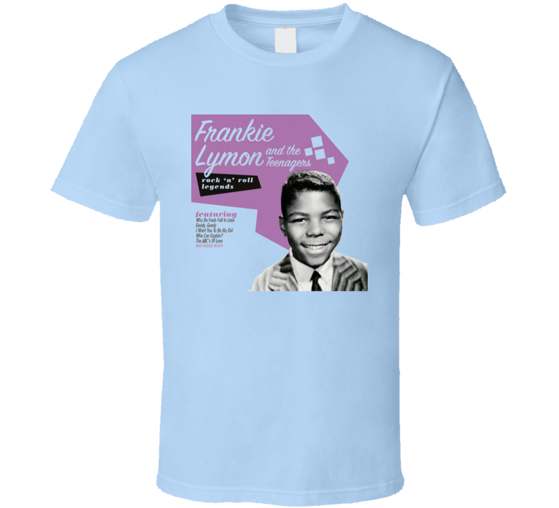 Frankie Lymon Hits T Shirt
