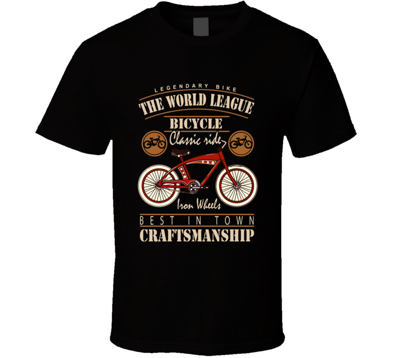 The World League Bicycle T Shirt