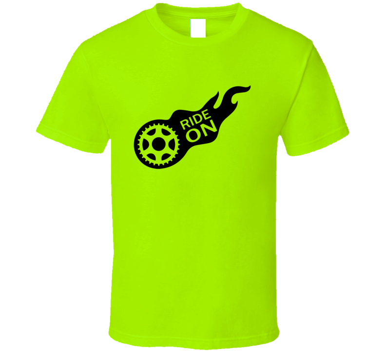 Bicycle Ride On T Shirt