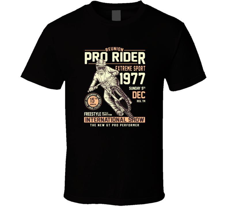 Pro Bike Rider Reunion T Shirt