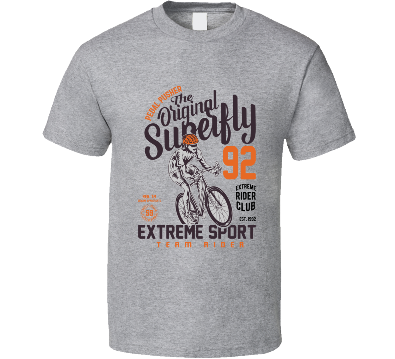 Pedal Pusher The Original Superfly T Shirt