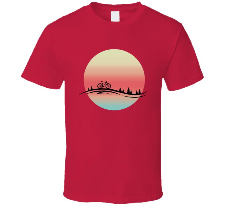 Bike Sunset T Shirt