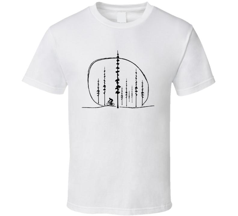 Woods Biker T Shirt