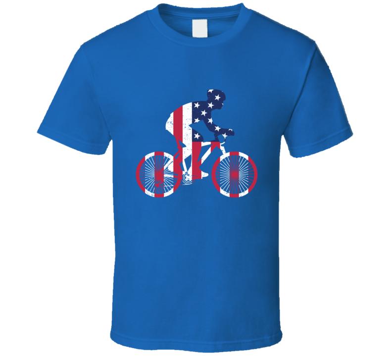 Usa Cyclist T Shirt