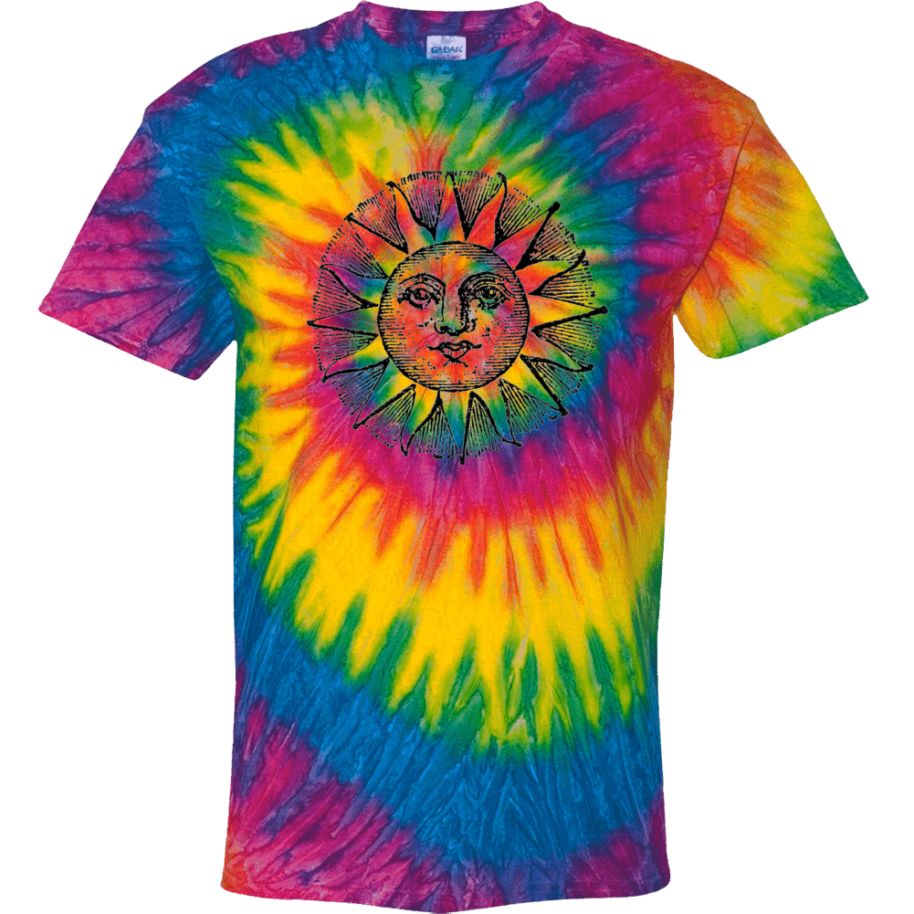 Rainbow Sun Tie Dye