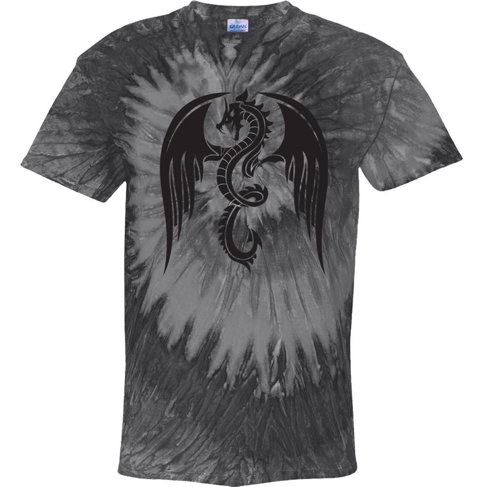 Black Dragon Tye Dye Tie Dye