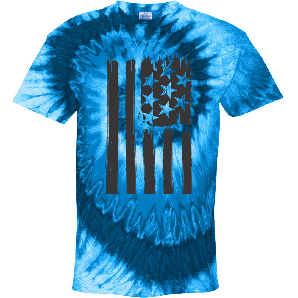U S A Flag Tye Dye Tie Dye