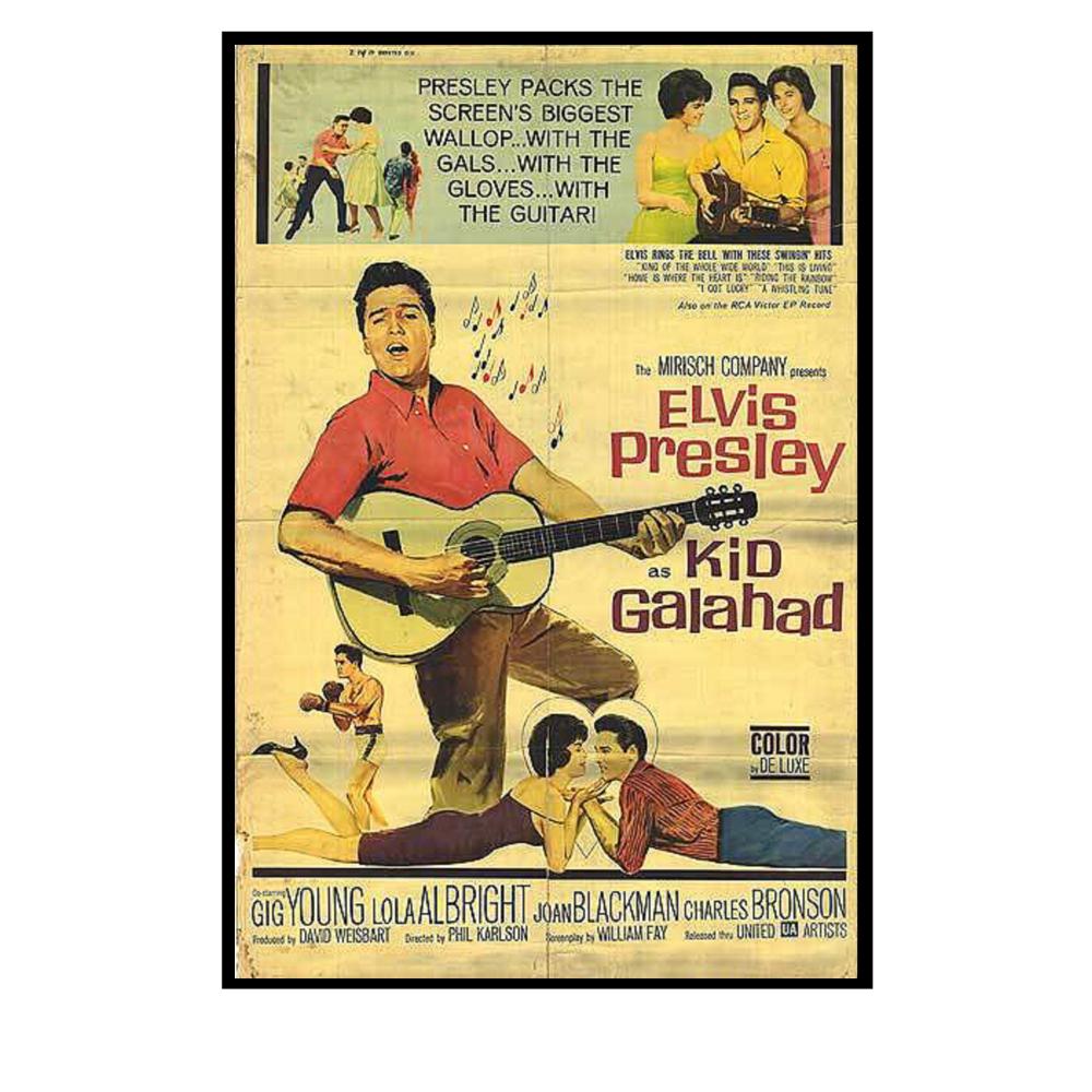 Elvis Kid Galahad Movie Poster