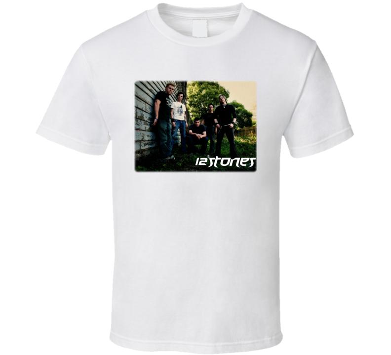 12 STONES band T-Shirt Christian Rock NEW 12stones T Shirt