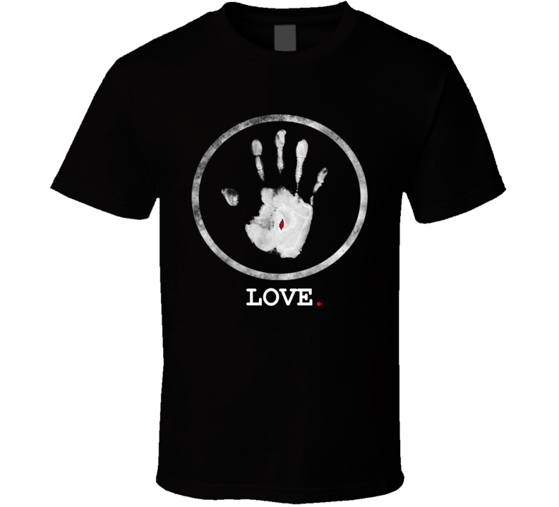 LOVE Jesus Pierced Hand T Shirt