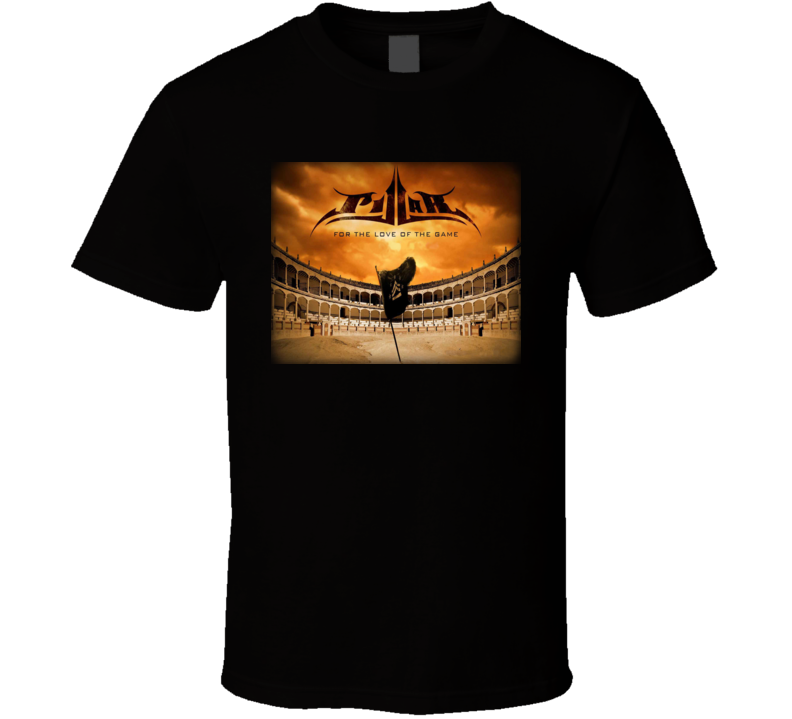 PILLAR for the Love of the Game black T Shirt