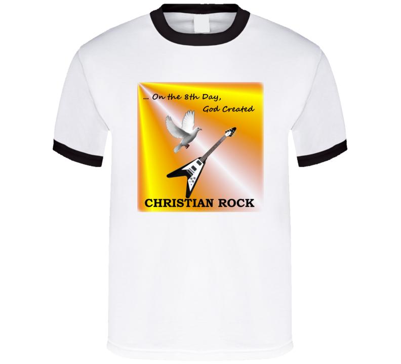 8th Day Ringer T Shirt