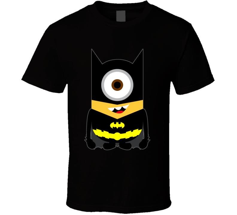 Batman Minion Black T-shirt