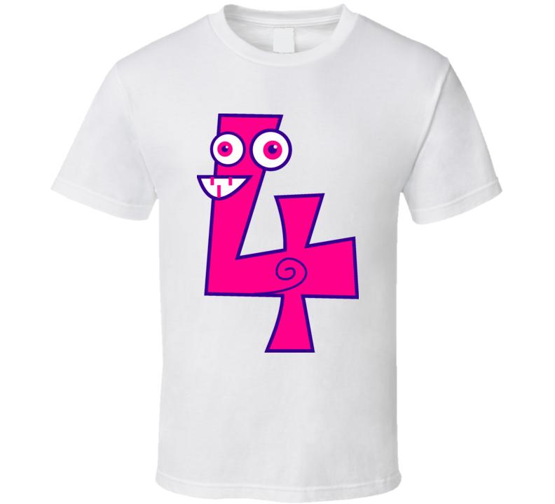 4 T Shirt
