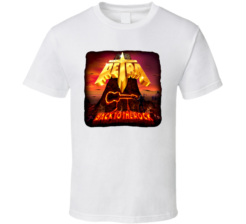Classic Petra Back to the Rock  T Shirt all colors