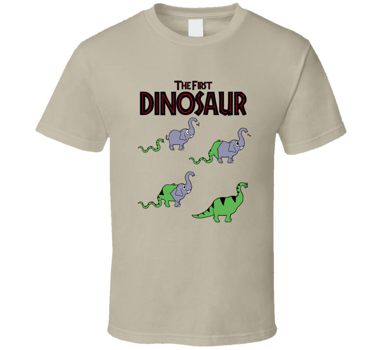The First Dinosaur T Shirt