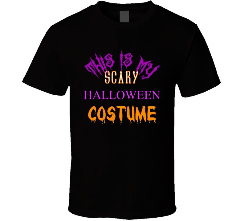 Scary Halloween Costume T Shirt