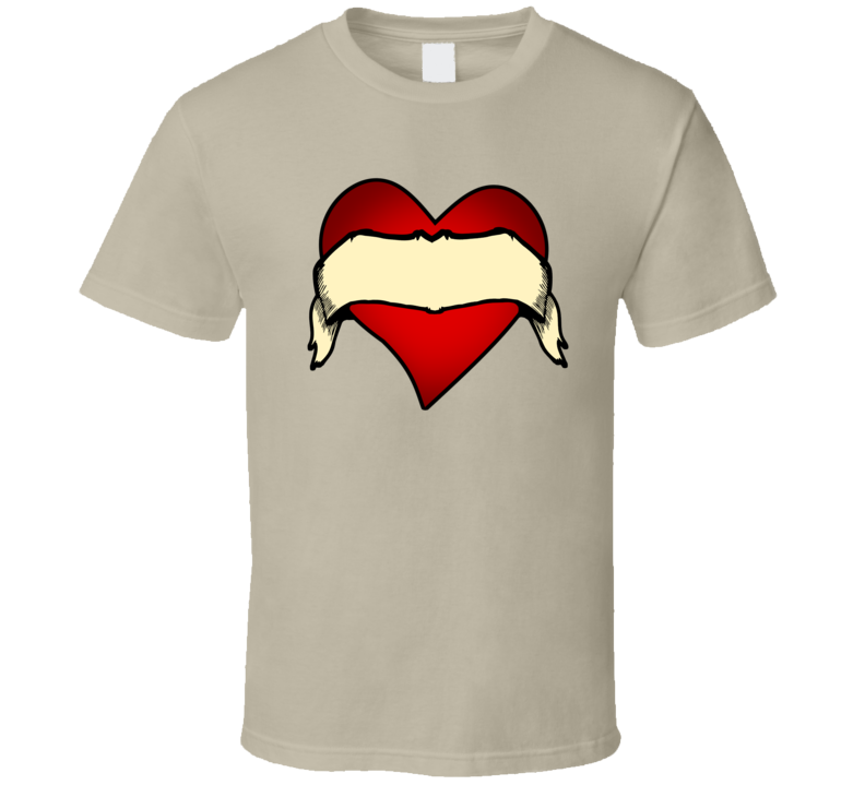 Tattoo Heart Customize  T Shirt