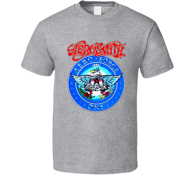Aero Force One Garth's Aerosmith T Shirt