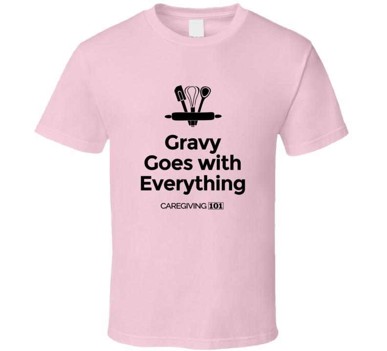 Cooking Club Gravy  Bw T Shirt