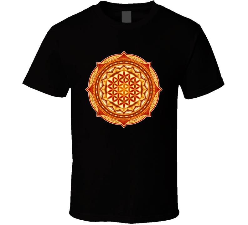 FLOWER OF LIFE Mandala T Shirt