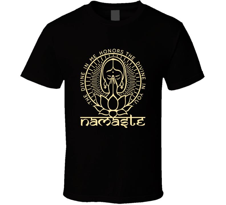 NAMASTE T Shirt (1)