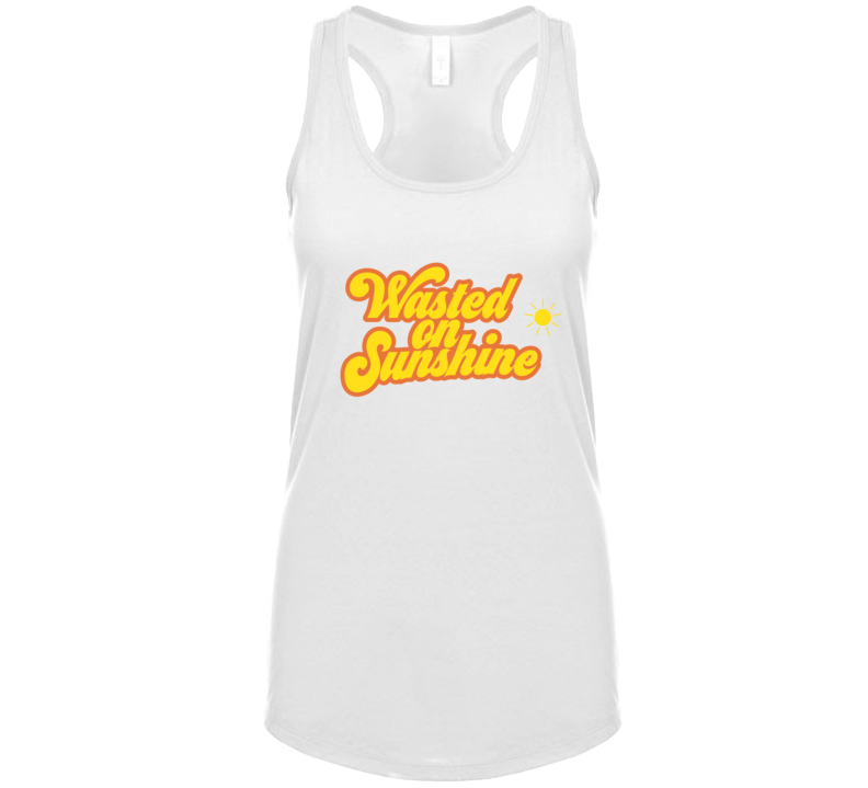 Wasted On Sunshine Tanktop