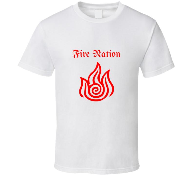 Fire Nation Aang Katara Avatar The Last Airbender Legend Of Korra T Shirt