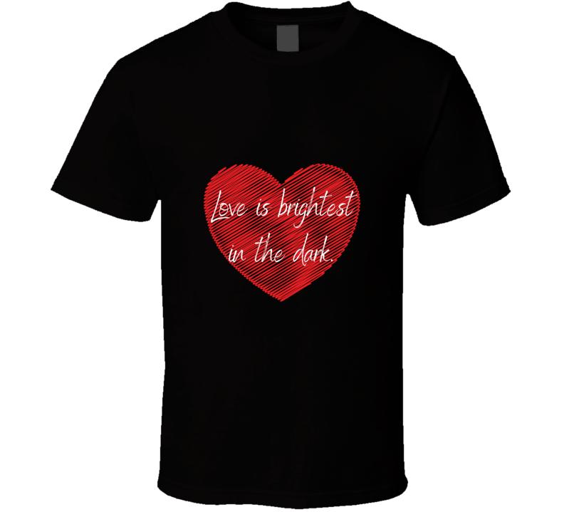 Love Is Brightest Aang Katara Avatar The Last Airbender Legend Of Korra T Shirt