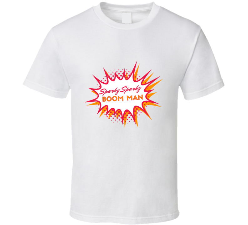 Sparky Sparky Boom Combustion Man Avatar The Last Airbender Legend Of Korra T Shirt