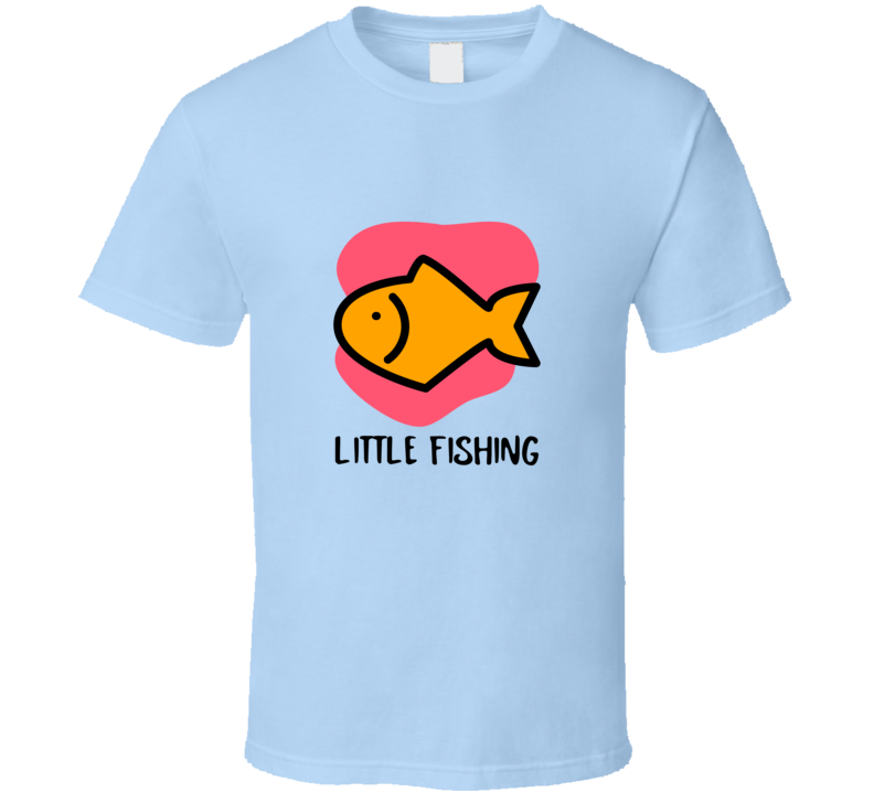 Little Fishing Dad Father And Son Hello Summer 2020 Fun Essential Gift T Shirt