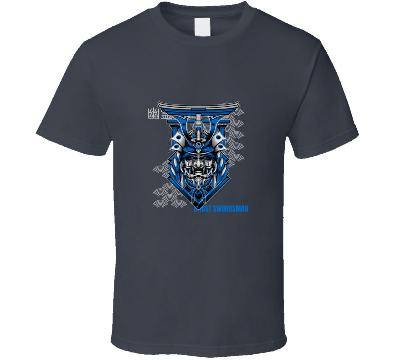 Japanese Anime Style Gamer Ghost Swordsman T Shirt