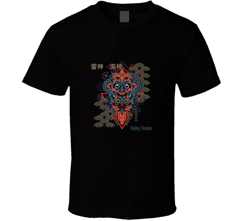 Japanese Anime Style Gamer Fujin Mortal Kombat T Shirt
