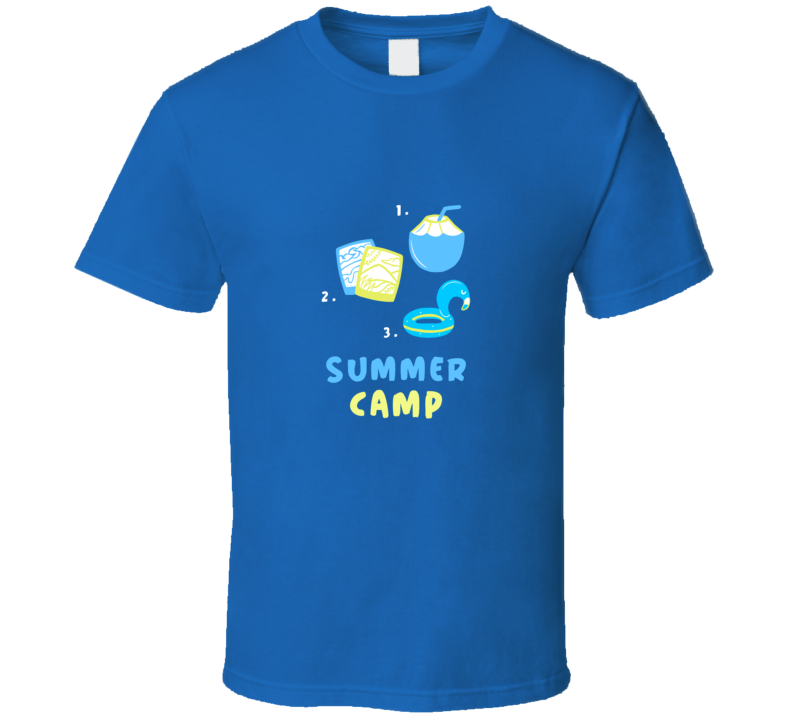 Summer Fun Vacation Summer Camp Beach T Shirt