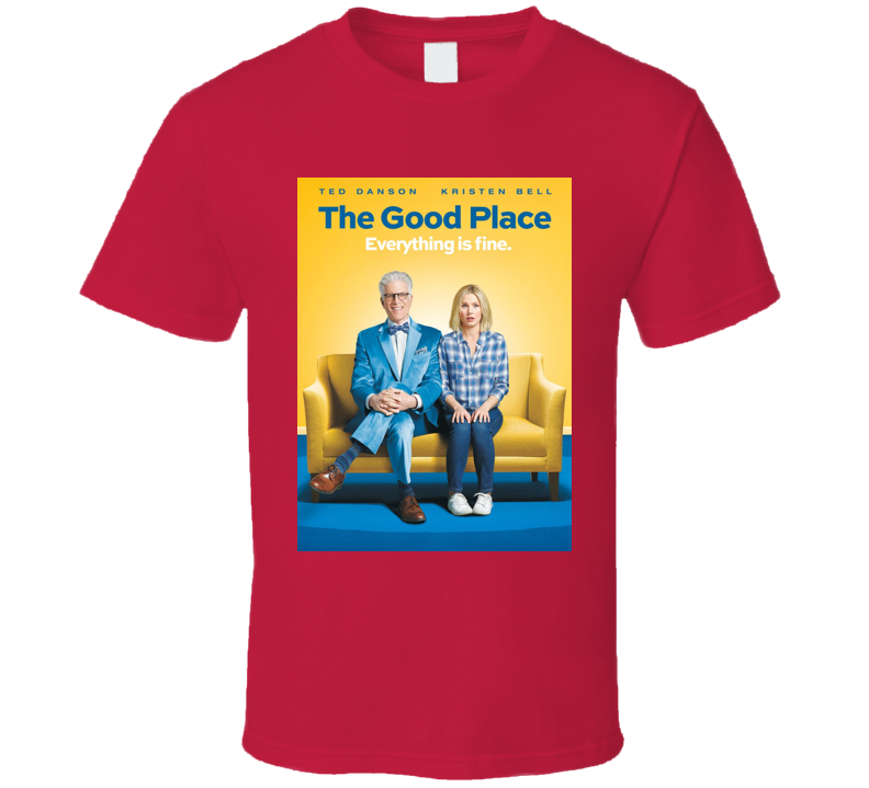 The Good Place Poster Emmy Nominated Tv Show Gift Cool T Shirt
