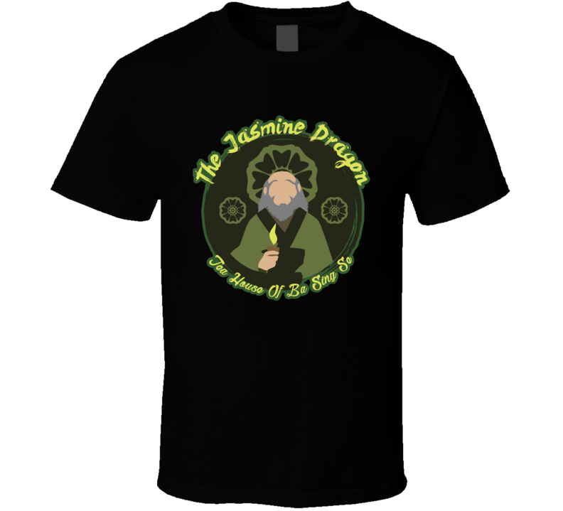 Uncle Iroh The Jasmine Dragon Tea Shop Avatar The Last Airbender Fan T Shirt