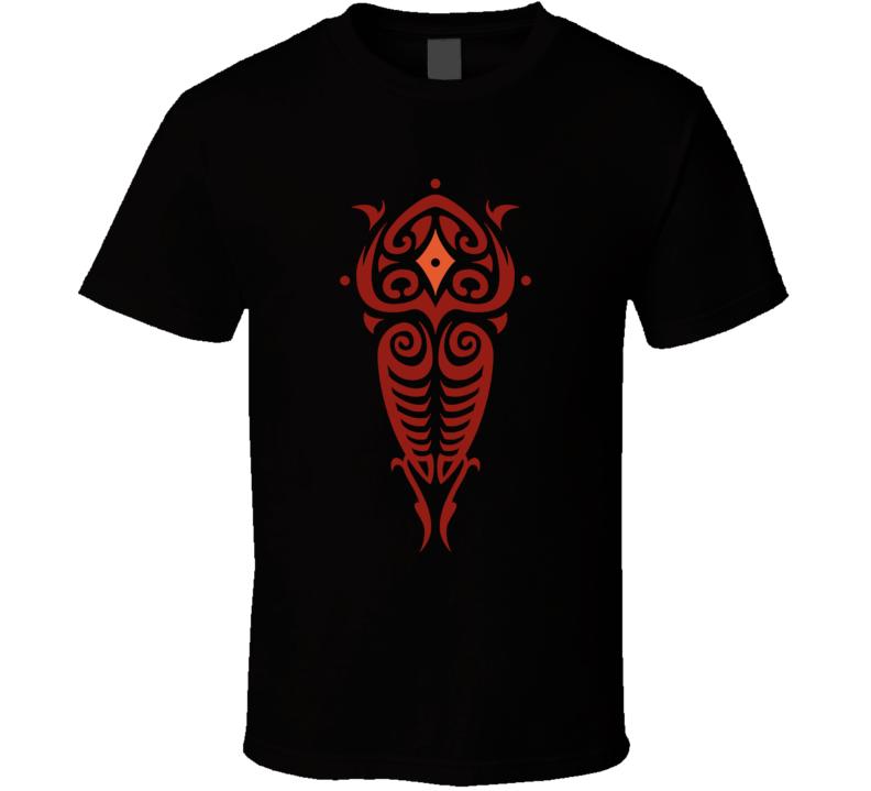 Vaatu Spirit Of Darkness And Chaos Legend OF Korra Animated TV Series Fan T Shirt
