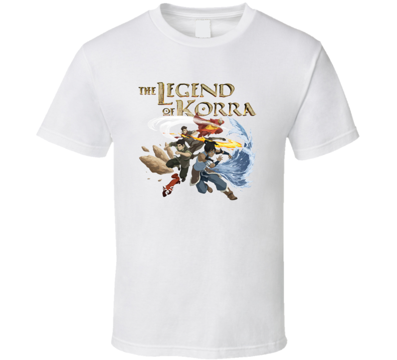 The Legend OF Korra Animated TV Series Fan T Shirt
