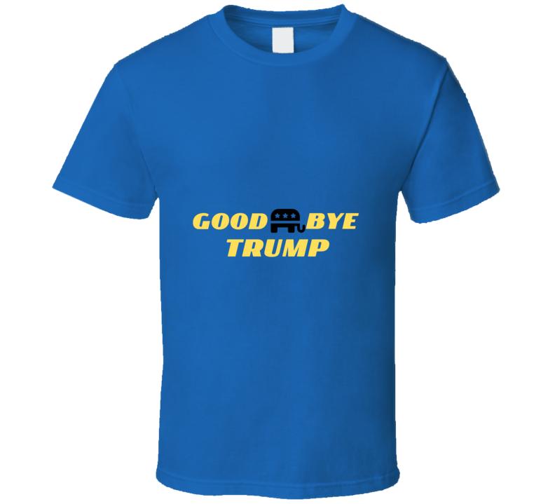 Goodbye Trump Republican Goodyear Against Trump Maga Blm Support Gift T Shirt