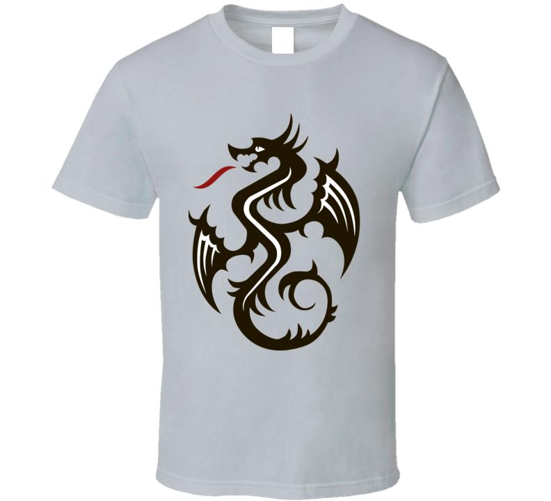 Classic Vector Dragon Perfect Gift Medieval Renaissance Fan T Shirt