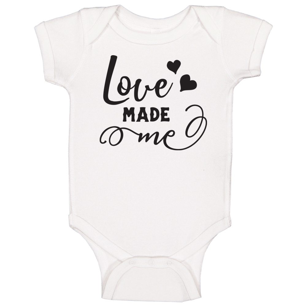 Love Made Me Cute Baby Baby One Piece