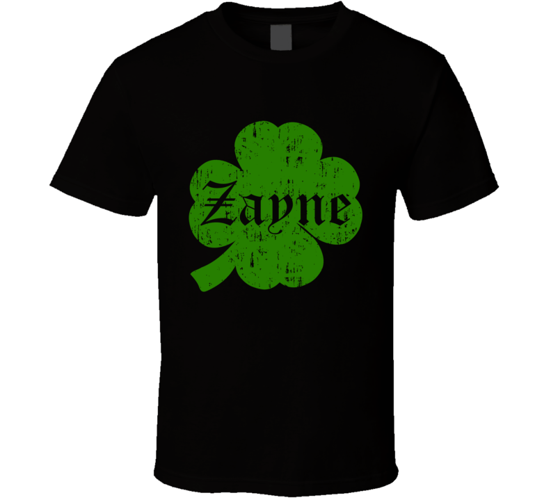 Zayne Clover St Patricks Day Name T Shirt