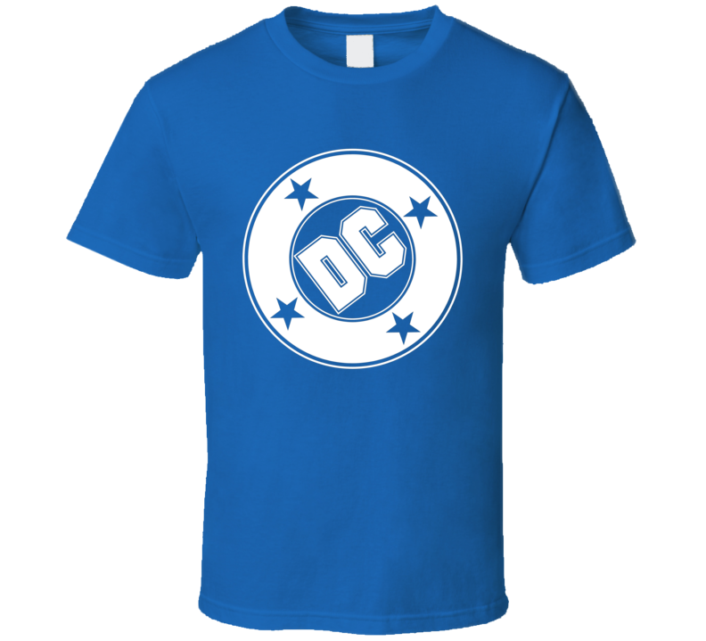 Dc Comics Logo Comic Books Magazine Halloween Costume T Shirt