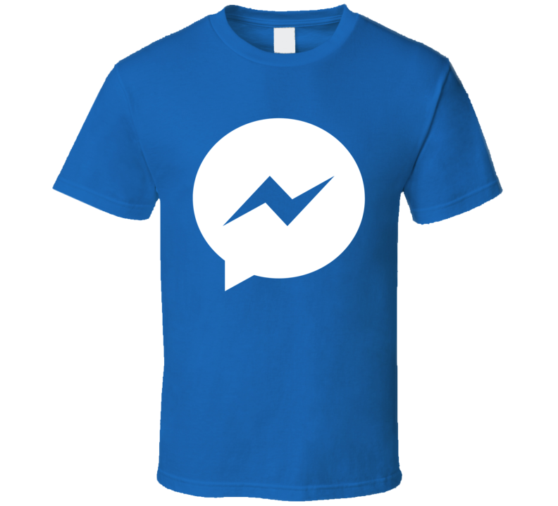 Facebook Messenger Logo Halloween Costume T Shirt