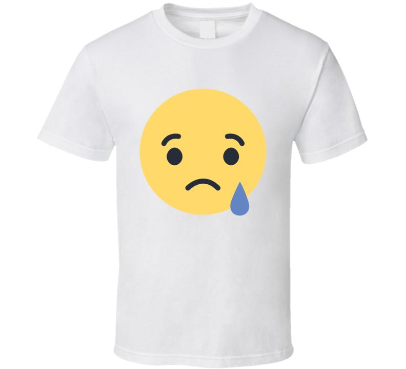 Facebook Sad Emoji Logo Halloween Costume T Shirt