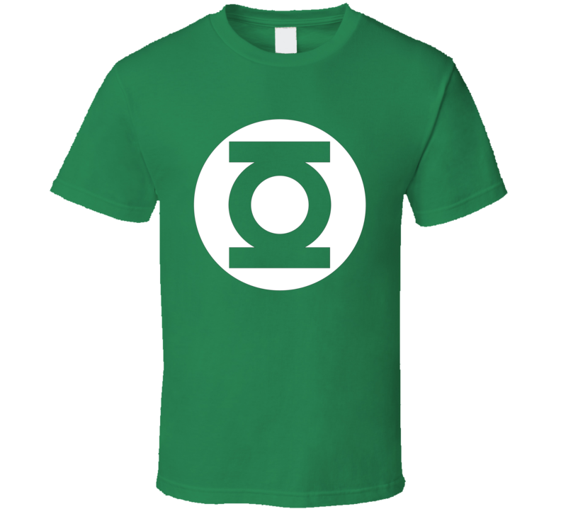 Green Lantern Super Hero Comic Logo Halloween Costume T Shirt