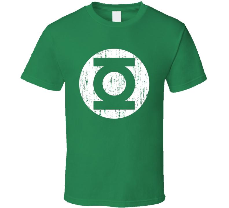 Green Lantern Logo Super Hero Comic Halloween Costume T Shirt