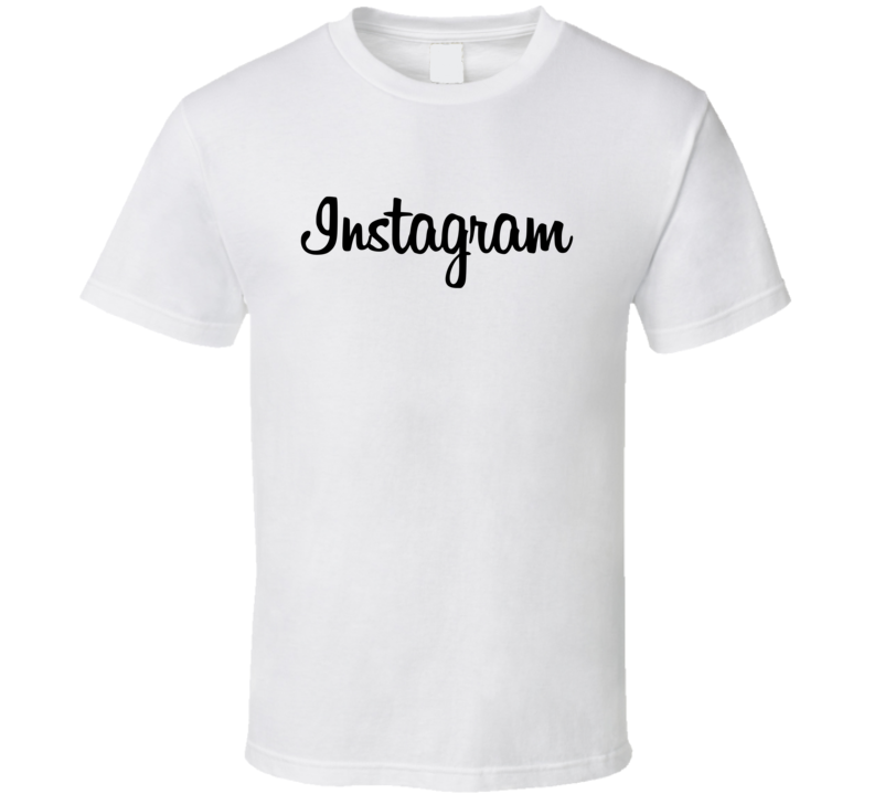 Instagram Logo Social Media Halloween Costume T Shirt