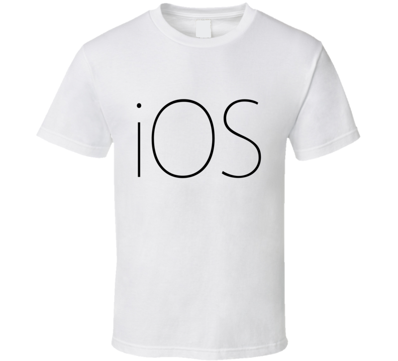 Ios Logo Halloween Costume Ipad Iphone Apple T Shirt